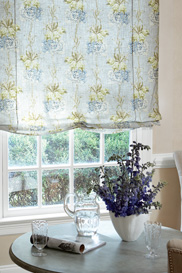Use your clearance fabric for fabric shades