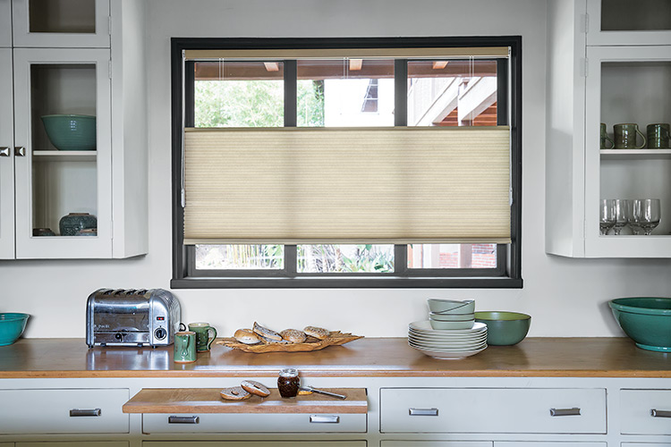 Top Down/Bottom Up Honeycomb Shades With Loop Control Give This Farmhouse  Kitchen The Ultimate Light Control, Privacy And View Options For Its Street  Facing ...