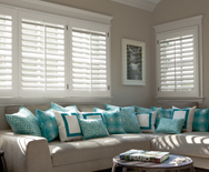 "2 1/2"" Louver Wood Shutters"