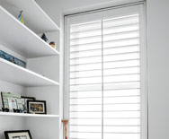 "4 1/2"" Louver Wood Shutters"