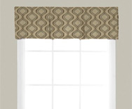 Box Pleat Fabric Valance