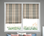 Classic Roman Fabric Shades - Custom Roman Window Shades - Smith+Noble