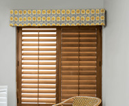 Kick Pleat Fabric Valance
