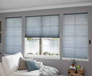 Luxe Linen Grand Cell Light-Filtering Honeycomb Shades