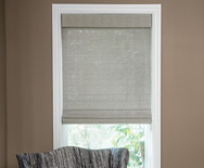 Natural Woven Flat Fold Shades - Bamboo Blinds, Bamboo Shades, Window Blinds - Smith+Noble