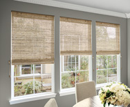 Natural Woven Waterfall Shades - Custom Bamboo Blinds and Bamboo Shades - Smith+Noble