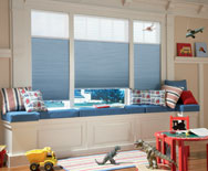 OptiLight Petite BO Cell Honeycomb Shades - Cellular Window Shades, Blinds - Smith+Noble