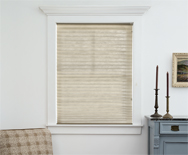 OptiPleat Privacy Weave Shades - Pleated Shades, Custom Shades