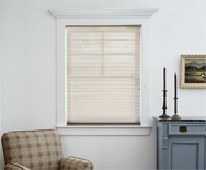 OptiPleat Semi Sheer Linen Shades - Pleated Shades, Custom Shades