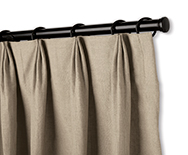 Parisian Pleat Drapery - Custom Window Treatments, Coverings, Drapery - Smith+Noble