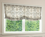 Relaxed Roman Fabric Shades - Window Shades, Custom Roman Shades - Smith+Noble