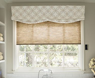 Relaxed Roman Fabric Valance - Window Shades, Custom Roman Shades - Smith+Noble