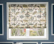 Reverse Classic Roman Fabric Shades - Custom Roman Window Shades - Smith+Noble