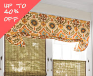 Sale Casual Fabric Valances