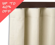 Sale Classic Wave Fold Drapery - Custom Window Treatments, Coverings, Drapery - Smith+Noble