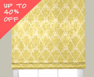 Sale Flat Roman Fabric Shades