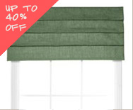 Sale Soft Roman Fabric Valances