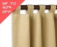 Sale Tab Top Drapery - Fabric Curtains, Drapery Hardware, Window Treatments - Smith+Noble