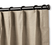 Single Pleat Drapery - Window Treatments, Coverings, Drapery Hardware - Smith+Noble