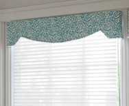 Slimline Hamilton Cornice - Fabric Covered Cornice - Smith+Noble