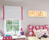 Soft Roman Fabric Shades - Custom Roman Window Shades - Smith+Noble