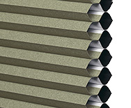 Specialty Arch Shades Twin Cell - Custom Window Shades, Window Coverings - Smith+Noble