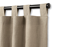 Tab Top Drapery - Fabric Curtains, Drapery Hardware, Window Treatments - Smith+Noble