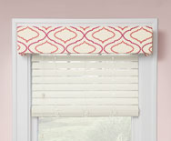 Slimline Tailored Cornice - Fabric Covered Cornice - Smith+Noble