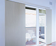 Vertical Blackout Honeycombs - Cellular Window Shades, vertical - Smith+Noble