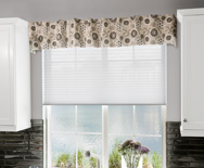 Back Tab Fabric Valance