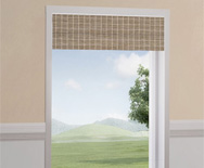 DISC Interiors<br> Natural Woven Waterfall Valance
