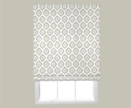 Wendy Bellissimo Home<br> Flat Roman Fabric Shade