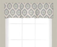 Wendy Bellissimo Home<br> Box Pleat Fabric Valance