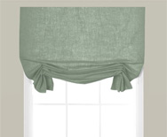 Wendy Bellissimo Home Casual Fabric Valance - swag shades, fabric shades - Smith+Noble