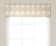 Wendy Bellissimo Home<br> Kick Pleat Fabric Valance