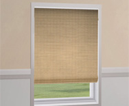 Wendy Bellissimo<br> Natural Woven Waterfall Shades