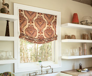 Wendy Bellissimo Home<br> Relaxed Roman Fabric Shade