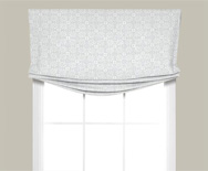 Wendy Bellissimo Kids Relaxed Roman Fabric Valance - Window Shades, Custom Roman Shades - Smith+Noble