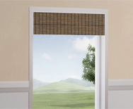 Wendy Bellissimo<br> Natural Woven Waterfall Valance
