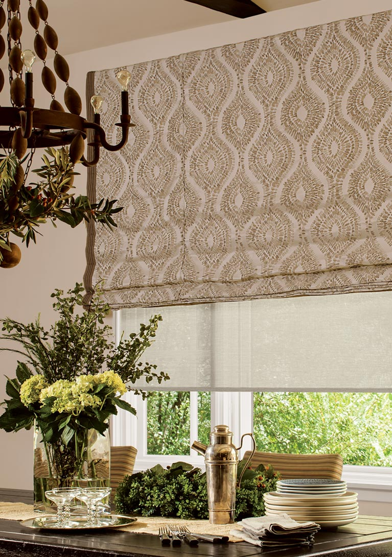 Valances For Windows With Shutters : Custom window treatments blinds shades curtains