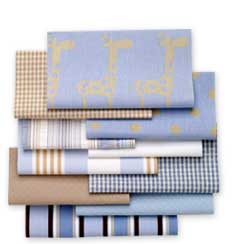 blue ribbon fabric