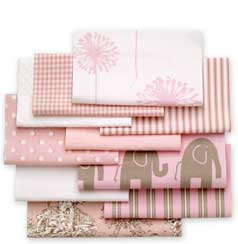 pretty in pink fabric