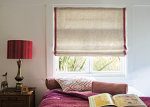 Summer Fabric Collections with Fabric Shades