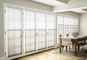 DualView Honeycomb Shades