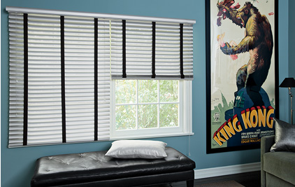 Metal Blinds for Media Rooms