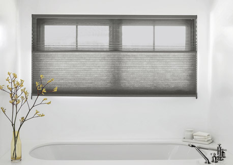 DualView Shades in the Bedroom or Bathroom