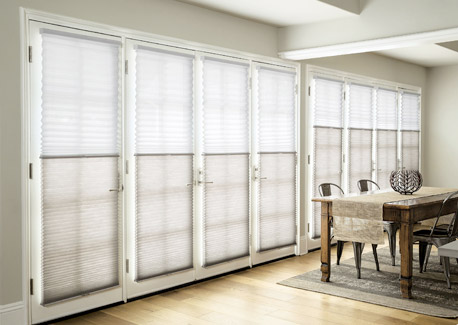 DualView shades in living room or family room