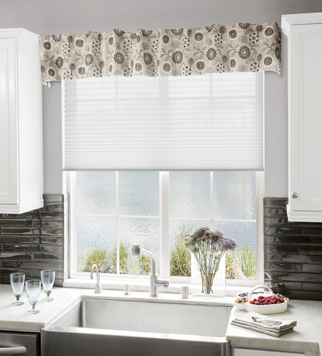 Window treatments in the kitchen