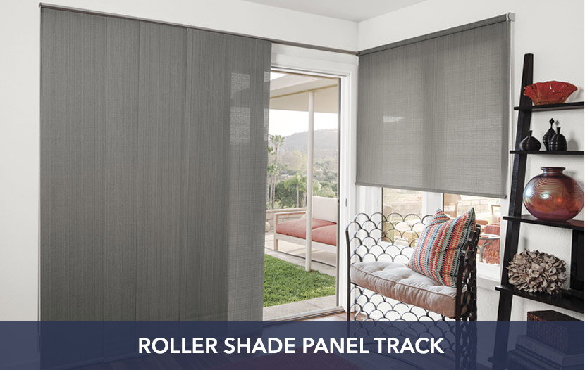 Roller Shade Panel Track