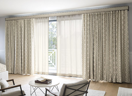 Wave Drapery Curtain Panels Drapery Window Coverings